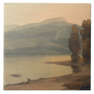 Francis Towne - Windermere at Sunset Tile