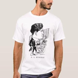 Francis X. Bushman Silent Movie Actor Caricature T-Shirt