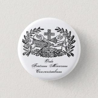 Franciscan Order 3 Cm Round Badge