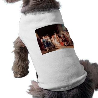 Francisco de Goya - Charles IV of Spain and His Fa Pet Tshirt