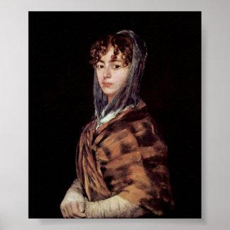 Francisco de Goya - Francisca Garcia y Sabasa Poster