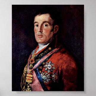 Francisco de Goya - The Duke of Wellington Poster