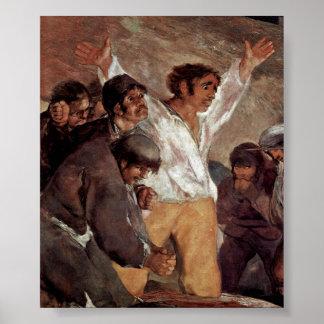 Francisco de Goya - The Third of May 1808 detail Poster
