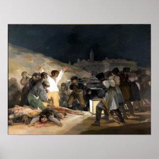 Francisco de Goya The Third of May 1808 Poster