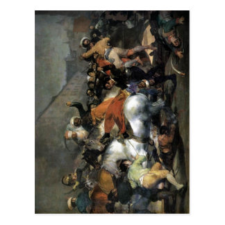 Francisco de Goya y Lucientes The Second of May 18 Postcard
