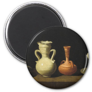 Francisco de Zurbarán Fine Art 6 Cm Round Magnet