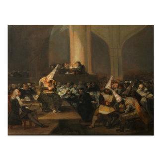 Francisco Goya - Inquisition Scene Postcard