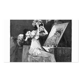 Francisco Goya- Till death Business Card Template