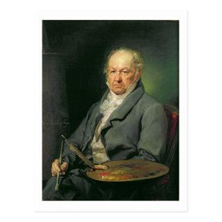 Francisco Jose de Goya, 1826 (oil on canvas) Postcard