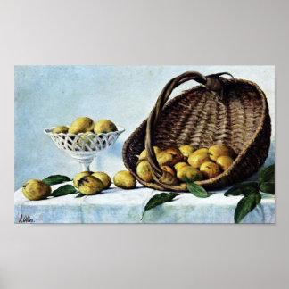 Francisco Oller Mangos Poster