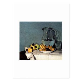 Francisco Oller Still Life Bananas, Pitcher Postcard