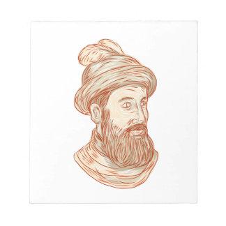 Francisco Pizarro Drawing Notepad
