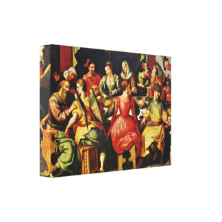 Francken d a Frans - History of the Tobias Gallery Wrapped Canvas