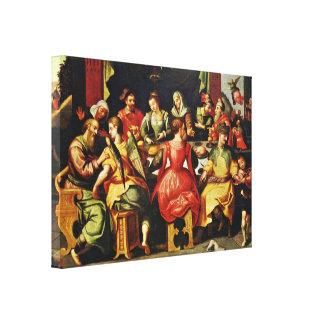 Francken d a Frans - History of the Tobias Canvas Prints