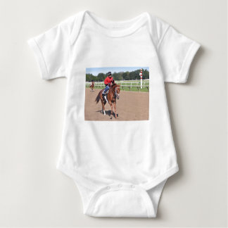 Franco in the First Baby Bodysuit