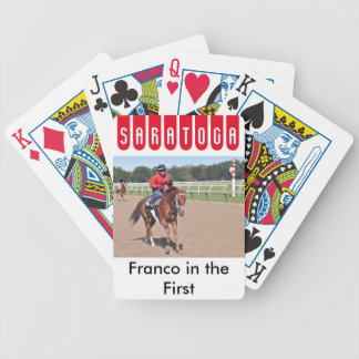 Franco in the First Bicycle Playing Cards
