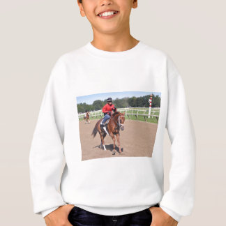 Franco in the First Sweatshirt