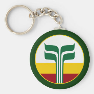 Franco-Manitoban Key Ring