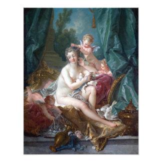 François Boucher The Toilette of Venus Photo Print