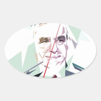 Francois Fillon after Pénélope Spoils Oval Sticker