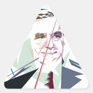 Francois Fillon after Pénélope Spoils Triangle Sticker