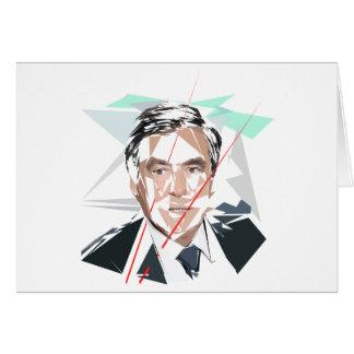 Francois Fillon before Pénélope Spoils Card