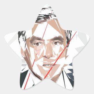 Francois Fillon before pénéloppe spoils Star Sticker