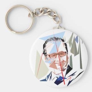 François Hollande Key Ring