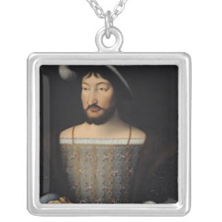 Francois I 2 Silver Plated Necklace
