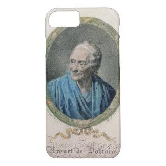Francois Marie Arouet de Voltaire (1694-1778) engr iPhone 7 Case