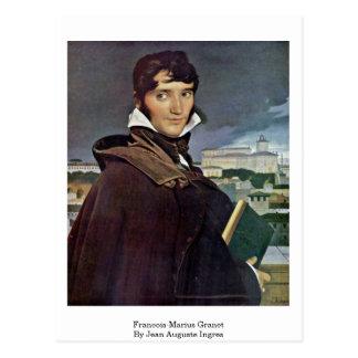 Francois-Marius Granet By Jean Auguste Ingres Postcard