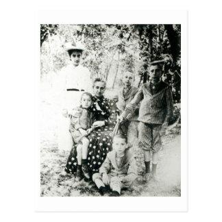 Francois Mauriac (1885-1970) as a child (b/w photo Postcard