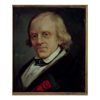 Francois Vincent Raspail  1849 Poster