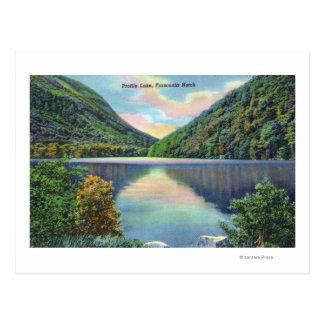 Franconia Notch View of Profile Lake Post Card