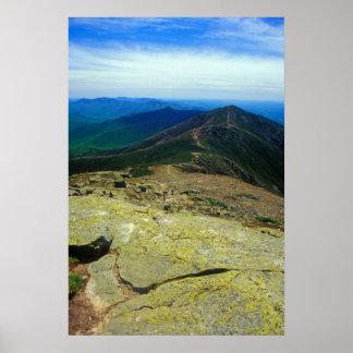 Franconia Ridge Trail White Mountains Poster
