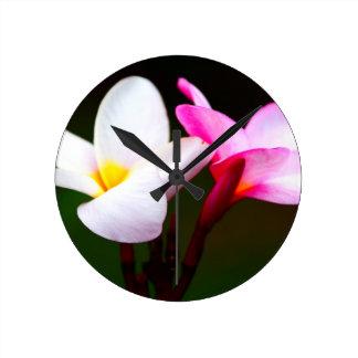 Frangipani Clock