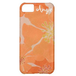 Frangipani Hawaiian Plumeria Tropical Beach Luau iPhone 5C Case