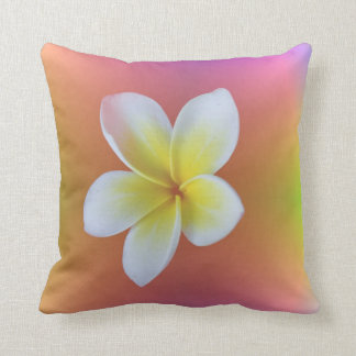 Frangipani Throw Cushion