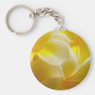 Frangipanis Key Ring