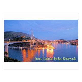 Franjo Tudjman Bridge 1 Postcard