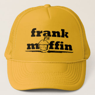 Frank Muffin Logo Trucker Hat