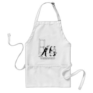 Frank Started W/O You Standard Apron