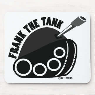 Frank The Tank Logo Mouse Pad