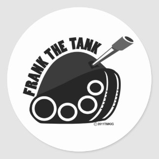 Frank The Tank Logo Sticker