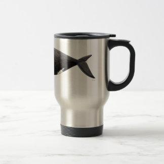 Frank whale of Atlantic Travel Mug