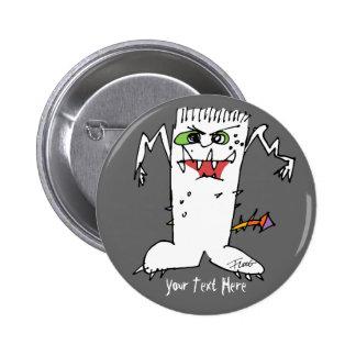 FrankEinstein Cartoon Monster Buttons