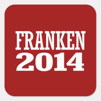 FRANKEN 2014 SQUARE STICKER
