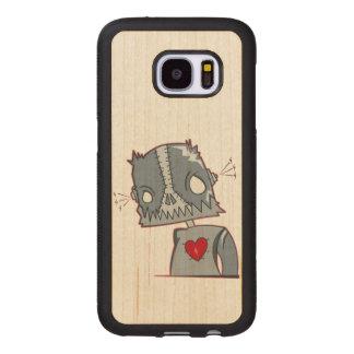 Frankenbot Illustration Wood Samsung Galaxy S7 Case