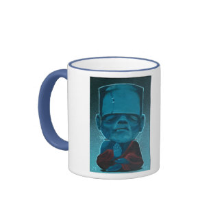 """FrankenBuddha"" Ringer Mug"