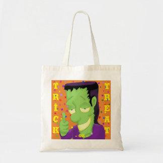 Frankencool Halloween Tote Bag